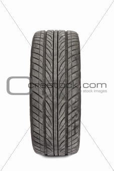 one tire