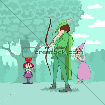 Valentine's Day of Robin Hood