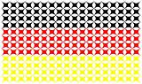 Germany flag isolated on white background