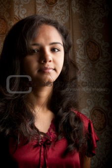Pretty Indian  woman portrait