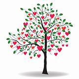 Valentine tree