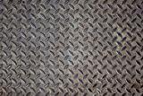 Grunge steel floor palte