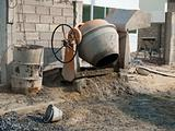 Small cement mixer