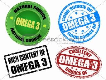 Omega 3 stamps