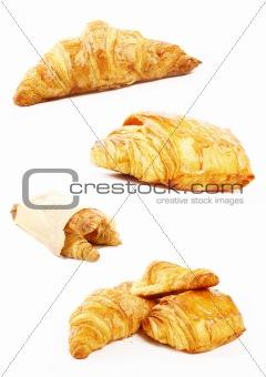 French croissant for breakast