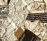 Grunge newspaper background
