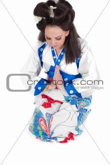 Portrait Of Geisha