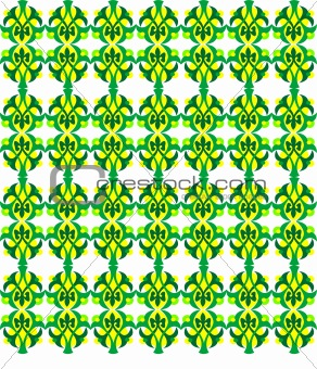 Abstract yellow and green seamless Background. vector illustration