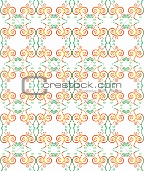 green seamless pattern background with modern design