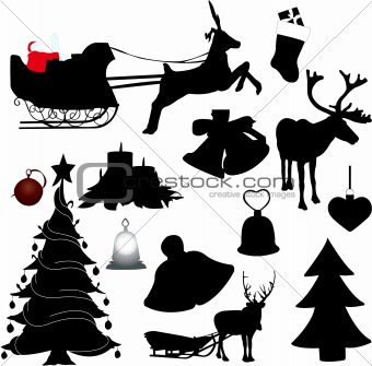 Reindeer Outline Template