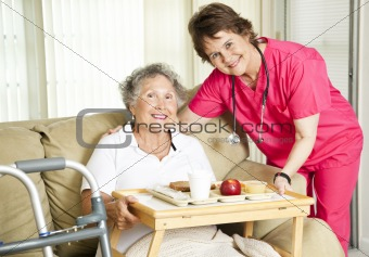 Lunch at the Nursing Home