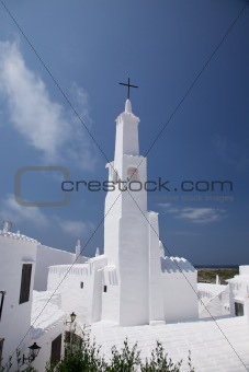church of Binibeca at Menorca