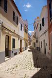 lonely Ciutadella street