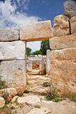 two prehistoric doors