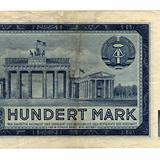 DDR banknote