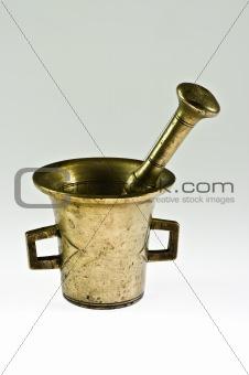 Brass mortar