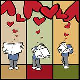 Romantic lover letters