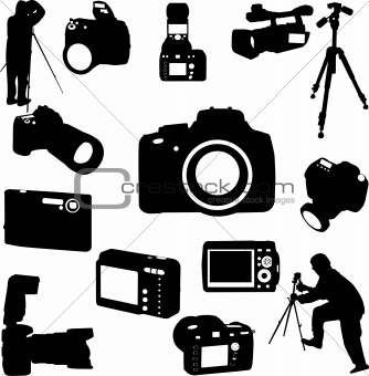 photographers and cameras