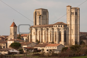 The collegiale of La Romieu, in Gascony.