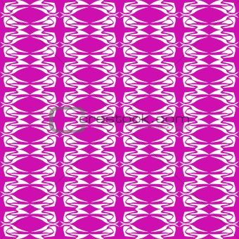 abstract magenta seamless floral background pattern