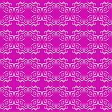 seamless ornament magenta decorative background pattern
