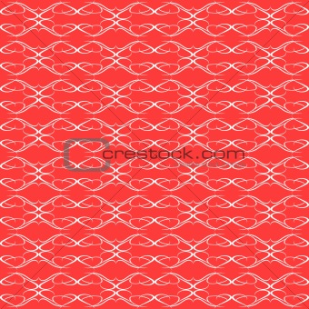 background red seamless Floral Pattern wallpaper