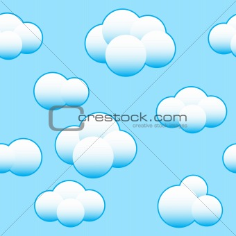 Abstract light blue sky background