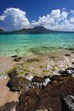 Majors Bay Beach on Saint Kitts