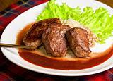 Roast maral meat