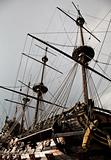 Detail of Neptune Galleon