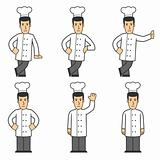 Chef character set 01