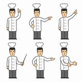 Chef character set 03