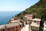 Italy. Cinque Terre. Village of Riomaggiore