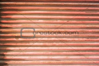 Background of metal door