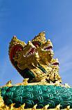 Naga 3 heads statue