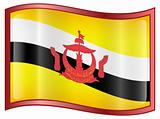 Brunei Flag icon.