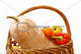 pumpkin cornucopia