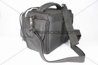 black handbag (coffer)