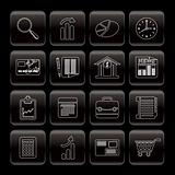 Line Business and Office  Internet Icons