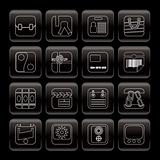 Line  Business and Internet Icons