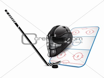 Hockey design elements
