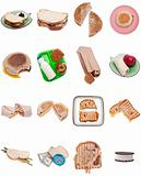 Collection of Sandwiches