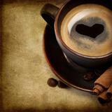 Cup Of Coffee With Heart