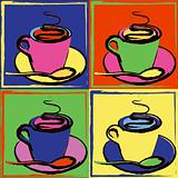 Pop Art Coffee Cups
