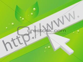 Green Web Concept