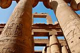 The Karnak Temple in Egypt
