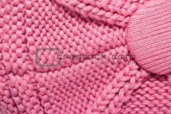 Beautiful pink factory cloth