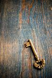 Single Antique Key