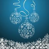 Illustration cute christmas composition