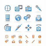Business, office and internet icons
